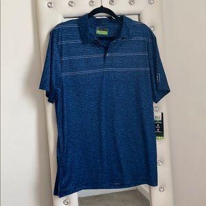 PGA Tour navy golf shirt